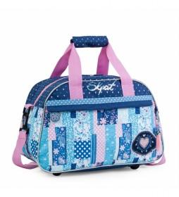 Bolsa Infantil de Deporte 130040 azul -40x25x19cm-