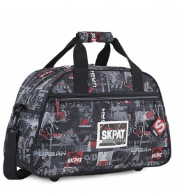 Bolsa Infantil de Deporte 131645 negro -45x28x20cm-