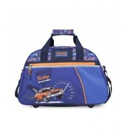 Bolsa Infantil de Deporte para Niño Estampada 130945 azul -45x28x20cm-