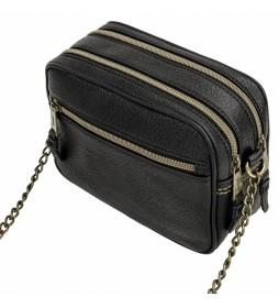 Bolso Tipo Bandolera Pequeño 304683 negro -14x20x8cm-