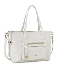 Bolso Shopping 307681 -37x23x14cm- blanco