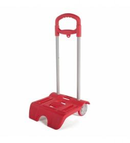 Carro para Mochilas Escolares Infantiles 1015 rojo