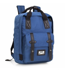 Mochila Casual  305536 -31x42x18 cm- azul