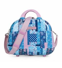 Neceser Sheyenne 130035 azul - 35x26x15cm -