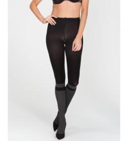 Panty Estampado de Calcetines 20036R negro