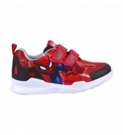 Zapatillas Spiderman rojo