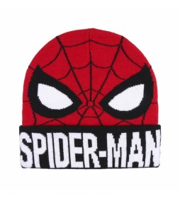 Gorro Spiderman rojo