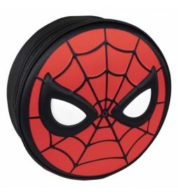 Mochila 3D Premium Spiderman rojo -30x30x9cm-