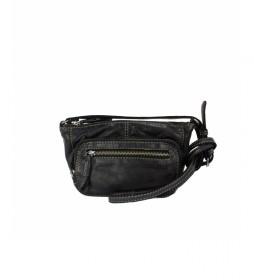 Bolso de piel  BMST05555NE negro   -13X24X6CM-