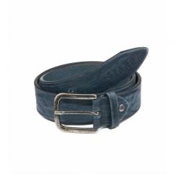 Cinturón de piel CIST21805AZX azul