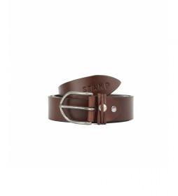 Cinturón de piel CIST21804CUX marrón