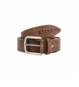 Cinturón de piel CIST21805CUN marrón