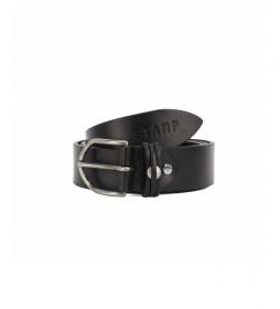 Cinturón de piel CIST21804NEX negro