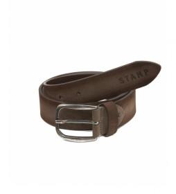 Cinturón de piel CIST21800TAX taupe