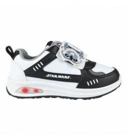 Zapatillas Luces Star Wars blanco