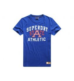 Camiseta Gráfica Ligera Track & Field azul