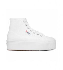 Zapatillas Abotinadas 2705 Hi Top blanco