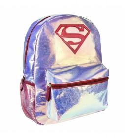 Mochila Casual Moda Superman -28x36x10cm-