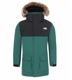 The North Face Parka McMurdo verde / DryVent