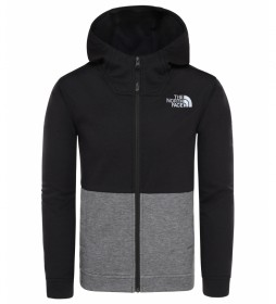 The North Face Sweatshirt Clacker noir / FlashDry