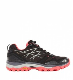 The North Face Botas Trekking Hedgehog Fastpack GTX Mujer negro, rosa