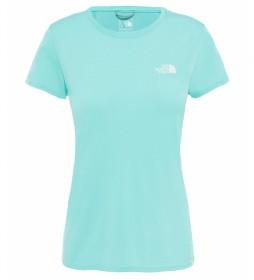 The North Face Camiseta Reaxion Ampere turquesa
