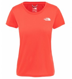 The North Face Reaxion Ampere orange t-shirt