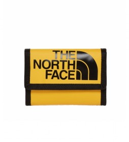 The North Face Wallet base camp yellow -19x12 cm