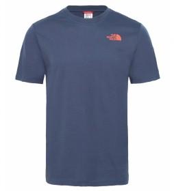 The North Face Redbox Marine Tee Cotton T-shirt