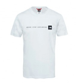 The North Face Camiseta Nse blanco