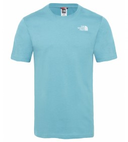 The North Face Redbox Cotton Tee T-shirt blue