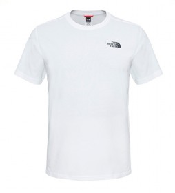 The North Face T-shirt in cotone Redbox Tee bianca