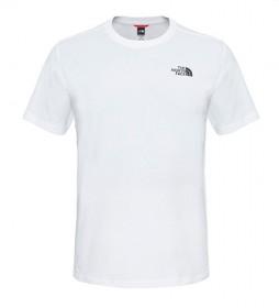The North Face Camiseta de algodão Redbox Tee branco