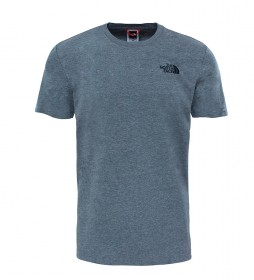 The North Face Cotton t-shirt Redbox Tee gray