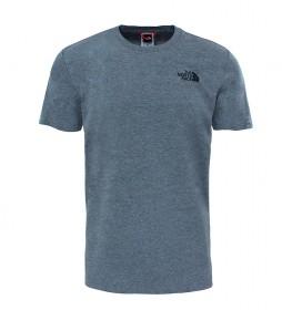 The North Face Camiseta de algodón Redbox Tee gris