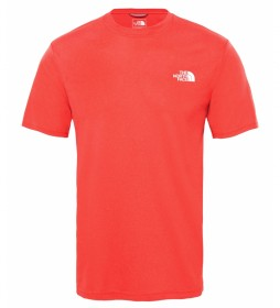 The North Face Round Neck Reaxion Amp Red T-Shirt / FlashDry
