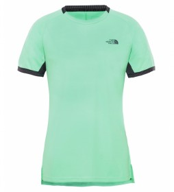 The North Face Ambition green t-shirt / FlashDry-XD