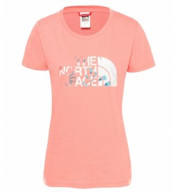 The North Face Camiseta Easy coral