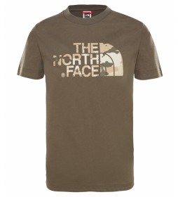 The North Face T-shirt Easy brown
