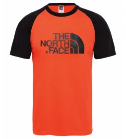 The North Face T-shirt Easy Raglan red