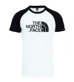 The North Face White Easy Raglan T-shirt