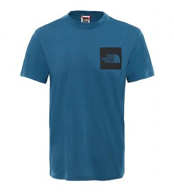 The North Face Fine T-shirt blue