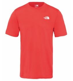 The North Face Camiseta Flex II vermelha