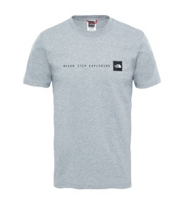 The North Face Camiseta Nse gris