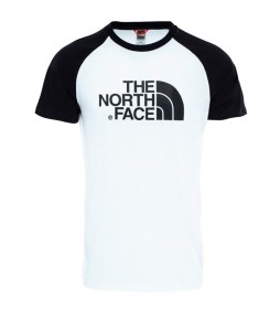 The North Face T-shirt raglan blanc