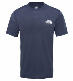 The North Face Camiseta Reaxion AMP marino