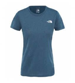 The North Face Camiseta Reaxion Ampere  azul