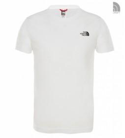 The North Face Camiseta Dome Niños blanco