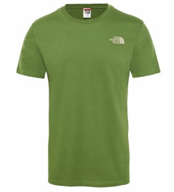 The North Face Camiseta Simple Dome verde