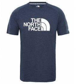 The North Face Wicker Graphic navy blue t-shirt / FlashDry